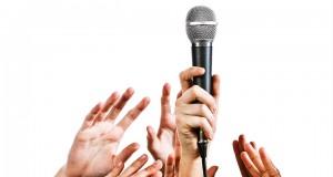 microfono hablar bien