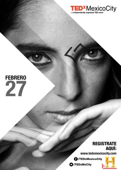 Flyer Invitación a #TEDxRadical