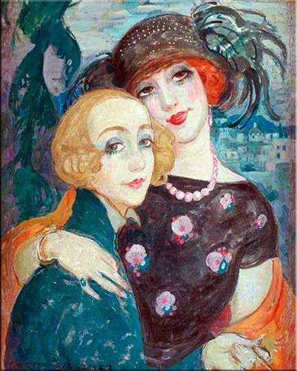 Gerda Wegener y Lili Elbe