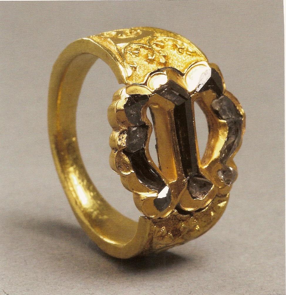 anillo maria borgoña