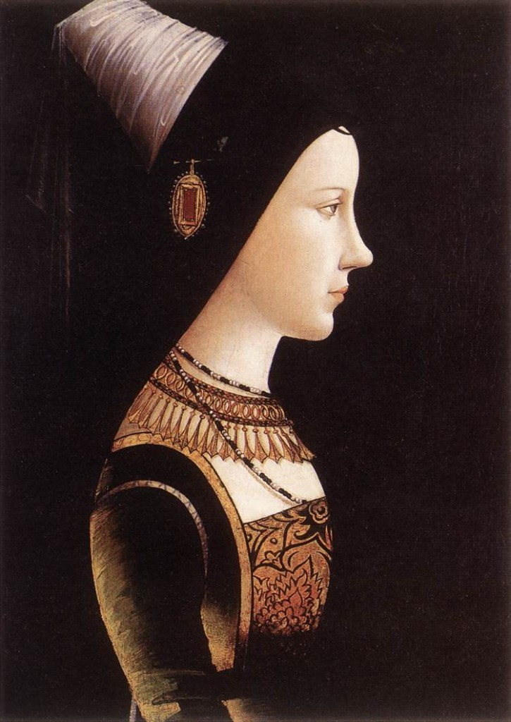 retrato de maria borgoña