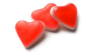 gomitas de corazon