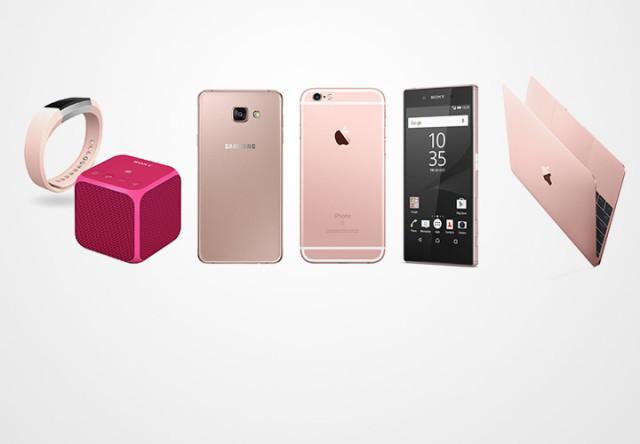 gadgets rosas