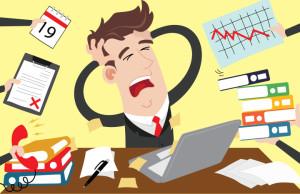 persona estresada