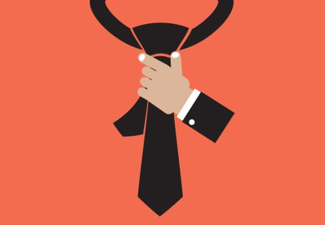ilustracion de corbata