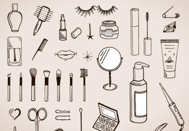 ilustracion de maquillaje