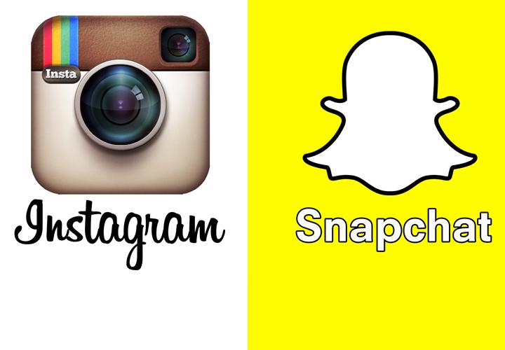 snapchat vs instagramMoi :Moiss