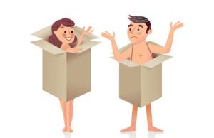 ilustracion pareja encuerada