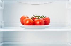 jitomates en el refrigerador