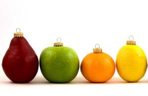 fruta de esferas