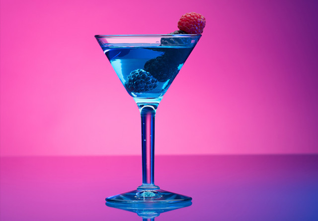 martini de berries