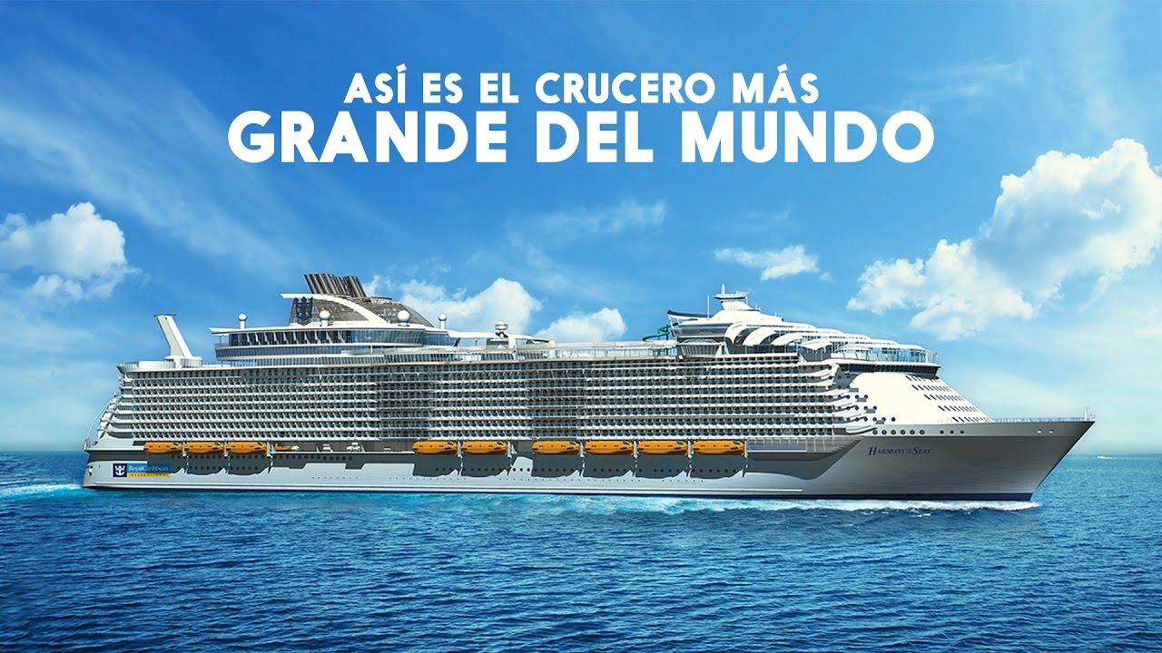 Viaja en el crucero m s grande del mundo revistamoi for Cual es el colchon mas grande