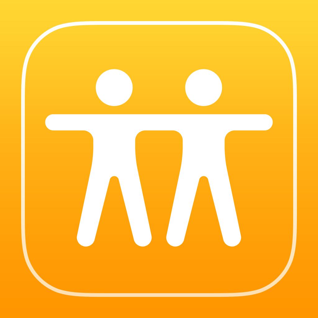 Cómo funciona la app Buscar a mis amigos: